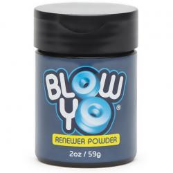 Для мастурбаторов и киберкожи BlowYo Renewer Powder - ВОССТАНАВЛИВАЮЩИЙ ТАЛЬК - Хранение и восстанов
