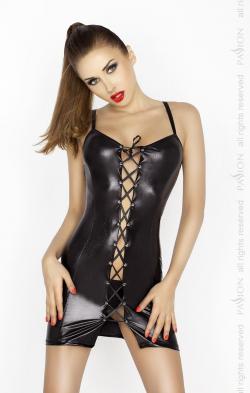 BELLATRIX CHEMISE black - Возбуждающее белье, цвет: черный