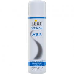 Лубрикант на водной основе - Pjur Woman Aqua 100 мл