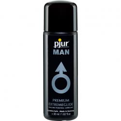 Лубрикант на силиконовой основе - Pjur MAN Premium Extremeglide, 30ml