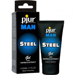 Гель для пениса массажный - Pjur MAN Steel Gel, 50 ml