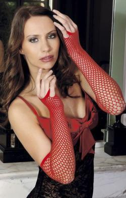 Сексапильность в ваших руках - Митенки сетка Anne De Ales