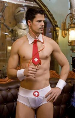 """Мужской эротический костюм доктора """"Кевин Профессионал"""" - Поиграем в больницу"""