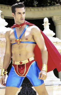 """Мужской эротический костюм супермена """"Готовый на всё Стив"""" - Секс с супергероем"""