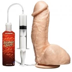 Игрушка, которая может кончить, The Amazing Squirting Realistic Cock - цвет: телесный