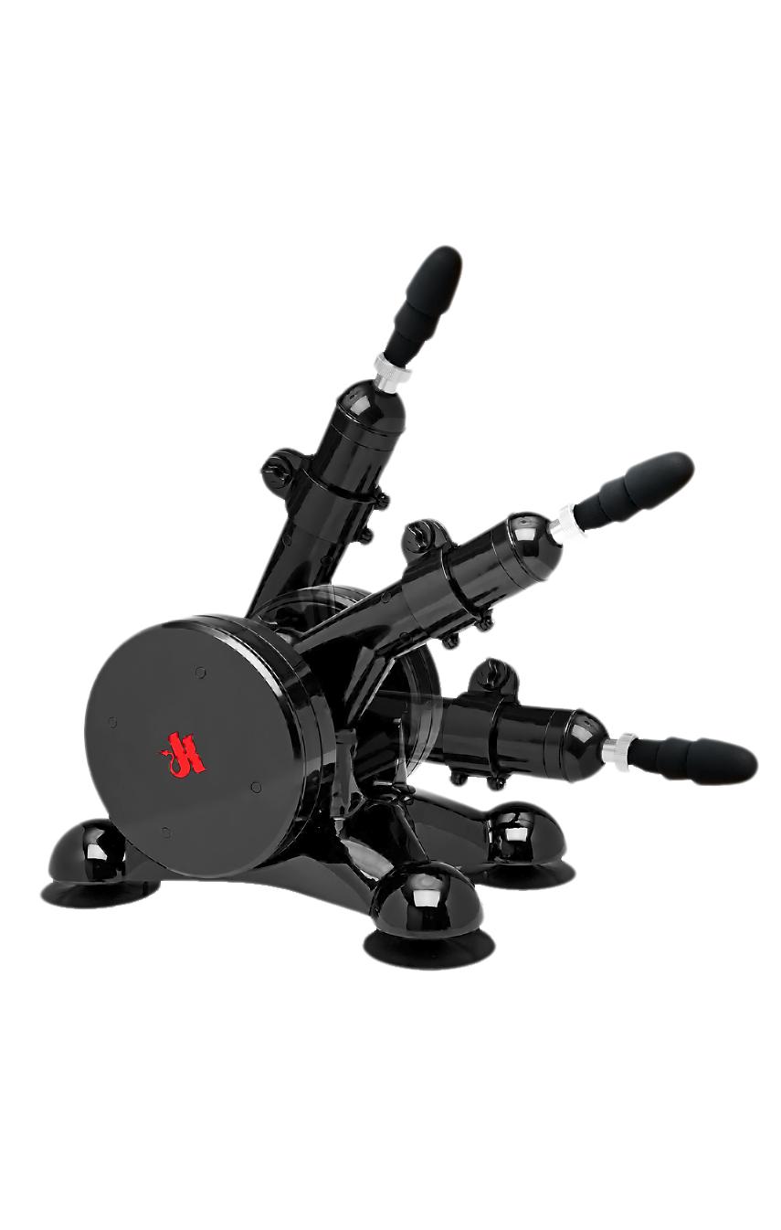 Машина для оргазмов, Doc Johnson Kink - Fucking Machines - Power Banger  -  цвет: черный