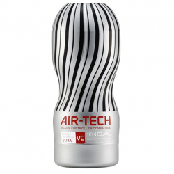Большое наслаждение - Мастурбатор - Tenga Air-Tech VC Ultra Size, цвет: белый