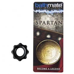 Эрекционное кольцо Bathmate Spartan, цвет: черный