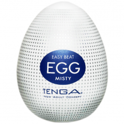 Туман наслаждения - Мастурбатор Tenga Egg Misty (Туманный), цвет: белый