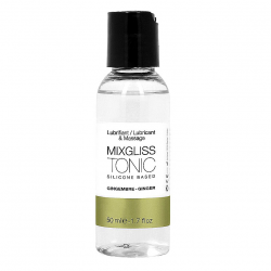 Долго и нежно - Лубрикант на силиконовой основе MixGliss TONIC - GINGEMBRE (50 мл)