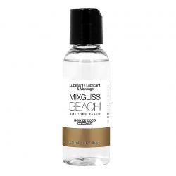 Кокосовая нежность - Лубрикант на силиконовой основе MixGliss BEACH - NOIX DE COCO (50 мл)