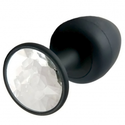 Анальная пробка Dorcel Geisha Plug Diamond L, цвет: черный