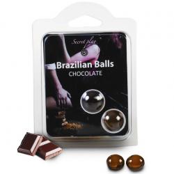 Набор ароматических шаров 2 CHOCOLATE BRAZILIAN BALLS SET
