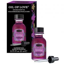 Малиновая нега - Массажное масло с ароматом малины Oil of Love 22 ml