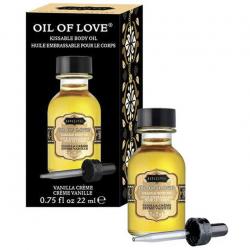 Для самых приятных ласк - Массажное масло с ароматом ванили Oil of Love 22 ml