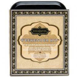 Новые сладостные ощущения - Набор косметики для любви с ароматом ванили The Weekender Tin Can