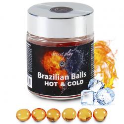 Максимальное удовольствие - Большой набор бразильских шариков 6 HOT & COLD EFFECT BRAZILIAN BALLS JA