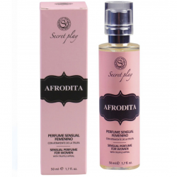 Искусный соблазн - Парфюм с феромонами  PHEROMONE SENSUAL PERFUME FOR WOMAN, AFRODITA 50 ml.