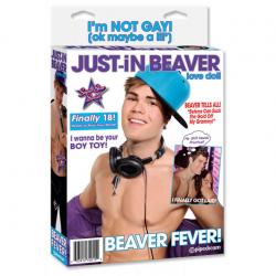 Секс кукла Just-in Beaver - felfújható PVC baba - Мальчик для секса