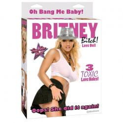 Похотливая кукла - Секс кукла BRITNEY BITCH! LOVE DOLL, цвет: телесный
