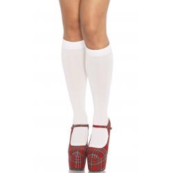 Элегантные носочки - Сексуальные подколенки Nylon Knee Highs, цвет: черный