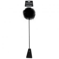 Feather Crop, цвет: черный