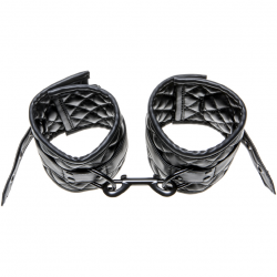 Наручники Allure BDSM Ankle Cuffs, цвет: черный