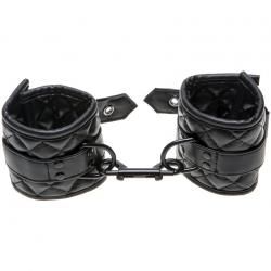 Allure BDSMWrist Cuffs, цвет: черный