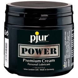 Лубрикант на комбинированной основе - Pjur POWER Premium Cream 500 мл