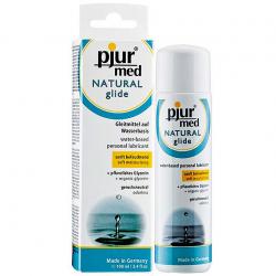 Лубрикант на водной основе - Pjur MED Natural glide 100 мл