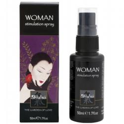 Мечты о страстных ласках - Возбуждающий спрей для женщин GEISHAS DREAM, stimulation spray - 50ml