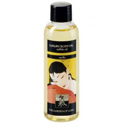 Прикосновения со вкусом ванили - Съедобное массажное масло  LUXURY BODY OIL - edible oil - 100ml