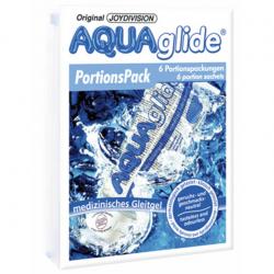 Набор для нежности - Набор пробников, AQUAglide, 6 Portionen (6 single portions)