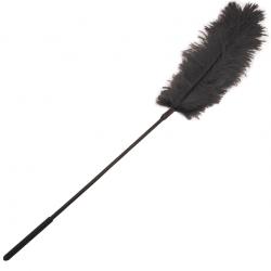 Ласки с перышком - Щекоталка с пером страуса Sportsheets - Ostrich Tickler