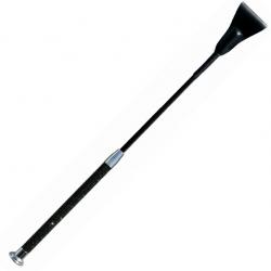 Отшлепай меня нежно - Шлепалка - Sportsheets Crystal Crop Noir, цвет: черный