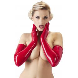Перчатки Latex-Handschuhe Red цвет красный