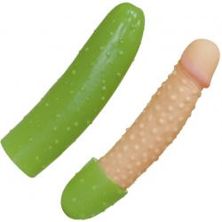 Шаловливый огурец - Фаллоимитатор Cucumber
