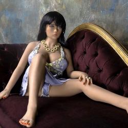 Реалистичная секс-кукла премиум класса Perla, цвет: телесный