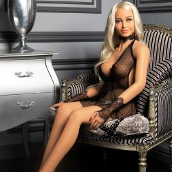Реалистичная секс-кукла премиум класса Angelina, цвет: телесный