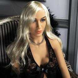 Реалистичная секс-кукла премиум класса Vittoria, цвет: телесный