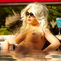 Гиперреалистичная секс-кукла премиум класса Анжела, цвет: телесный