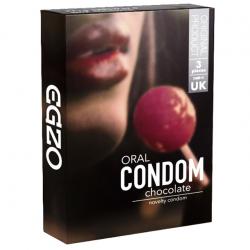 Оральные презервативы EGZO Chocolate (Шоколад)