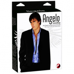 Надувной мачо - Кукла-мужчина  Angelo Loverboy - Мужская Blow Up Doll, цвет: телесный