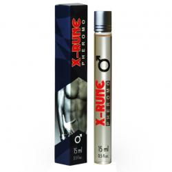 Флирт на поражение - Духи с феромонами мужские X-rune (roll-on), 15 мл