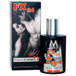 Для самого эффективного флирта - Духи с феромонами мужские - FX24 for men by MAXER, 50 мл