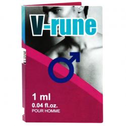 Безотказный флирт - Пробник духов - Aurora V-rune for men, 1 мл