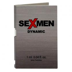 Феромоны для вашей привлекательности - Пробник духов - Aurora Sexmen Dynamic for men, 1 мл