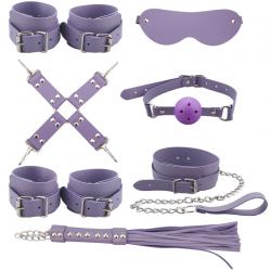 Поиграй со мной - Набор для БДСМ-свидания, цвет: фиолетовый