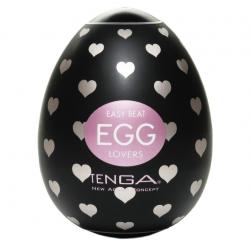 Неутомимая любовница - Мастурбатор Tenga Egg Lovers, цвет: прозрачный