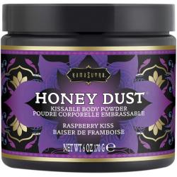 Тело как десерт - Пудра для тела со вкусом и ароматом малины Honey Dust Body Powder 170g